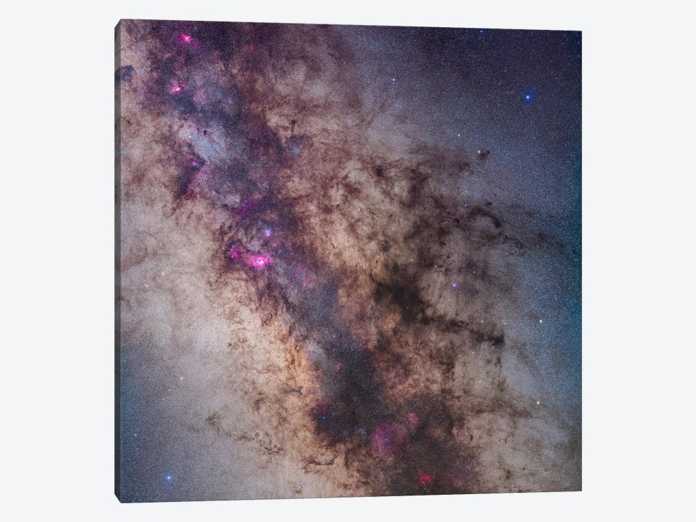 The Center Of The Milky Way In Sagittarius And Scorpius I by Alan Dyer 1-piece Canvas Wall Art
