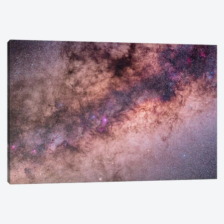 The Center Of The Milky Way In Sagittarius And Scorpius II Canvas Print #TRK1176} by Alan Dyer Canvas Art Print