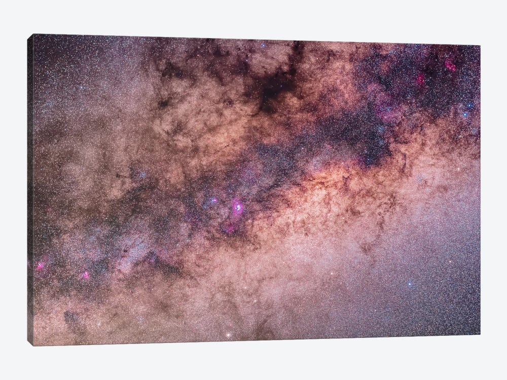 The Center Of The Milky Way In Sagittarius And Scorpius II by Alan Dyer 1-piece Art Print