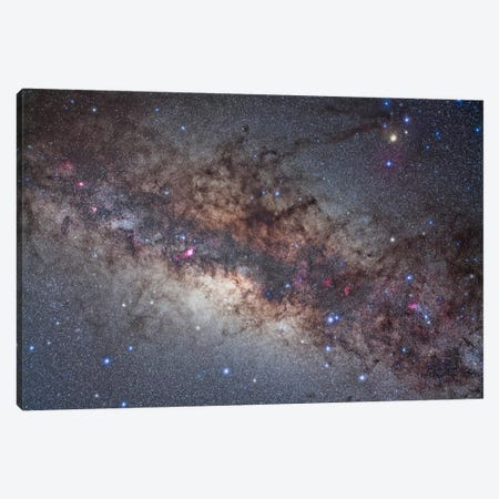 The Center Of The Milky Way Through Sagittarius And Scorpius Canvas Print #TRK1177} by Alan Dyer Canvas Print