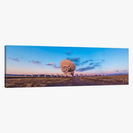 The Very Large Array Radio Telescope In New Mexico At Sunset Canvas Print #TRK1182} by Alan Dyer Canvas Print