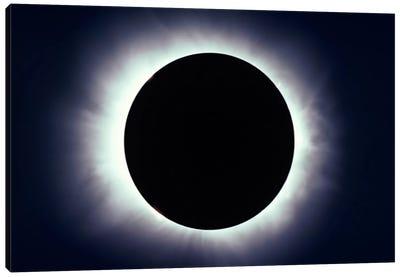 Total Solar Eclipse Taken Near Carberry, Manitoba, Canada Canvas Art Print