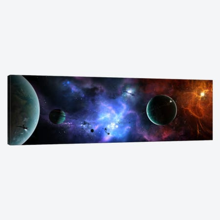 A Massive And Crowded Universe Canvas Print #TRK1188} by Brian Christensen Art Print