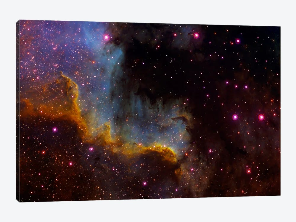 Close-Up View Of North America Nebula (NGC 7000) by Filipe Alves 1-piece Canvas Art