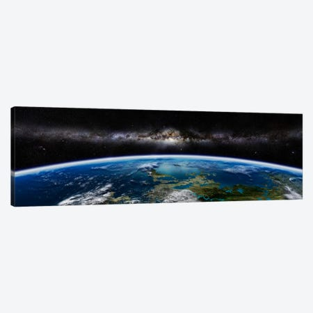 Artist's Concept Of An Extraterrestrial Planet Canvas Print #TRK1214} by Frieso Hoevelkamp Canvas Wall Art