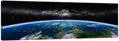 Artist's Concept Of An Extraterrestrial Planet Canvas Art Print