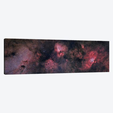 Panorama Near The Sagittarius Region Of Our Milky Way Galaxy Canvas Print #TRK1223} by John Davis Canvas Artwork