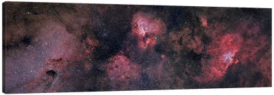 Panorama Near The Sagittarius Region Of Our Milky Way Galaxy Canvas Art Print