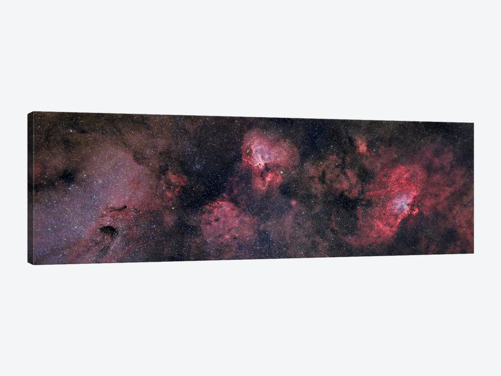 Panorama Near The Sagittarius Region Of Our Milky Way Galaxy by John Davis 1-piece Canvas Art Print
