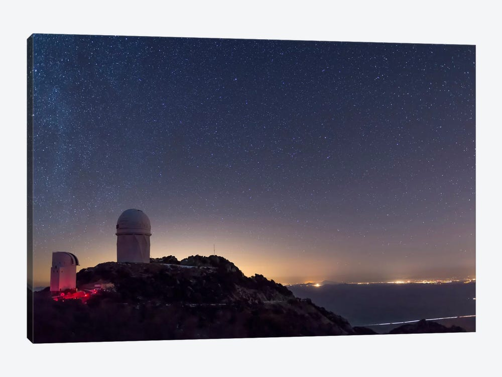 The Mayall Observatory At Kitt Peak On A Clear Starry Night by John Davis 1-piece Canvas Art