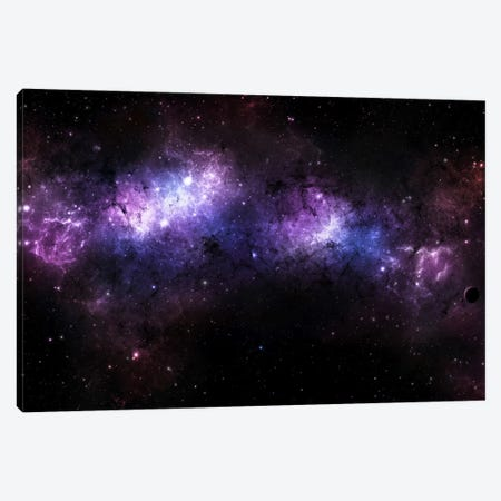 A Massive Nebula Covers A Huge Region Of Space Canvas Print #TRK1230} by Justin Kelly Art Print