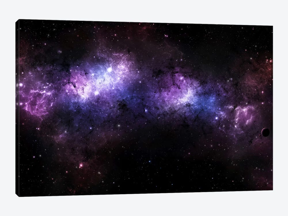 A Massive Nebula Covers A Huge Region Of Space by Justin Kelly 1-piece Canvas Print