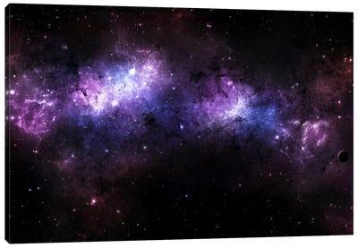 A Massive Nebula Covers A Huge Region Of Space Canvas Art Print
