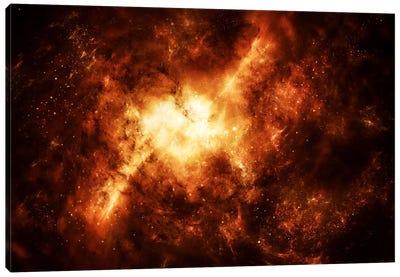 A Nebula Surrounded By Stars Canvas Art Print