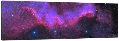 Cygnus Wall (NGC 7000) The North American Nebula Canvas Art Print
