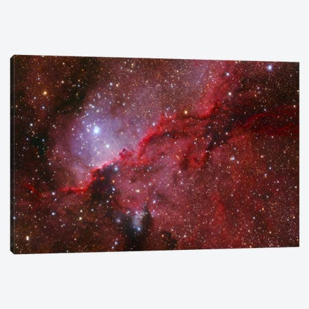 Star Forming Emission Nebula (NGC 6188) In The Constellation Ara Canvas Print #TRK1235} by Lorand Fenyes Canvas Artwork