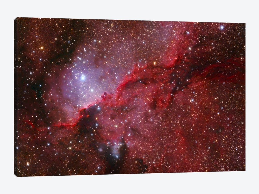 Star Forming Emission Nebula (NGC 6188) In The Constellation Ara by Lorand Fenyes 1-piece Canvas Wall Art