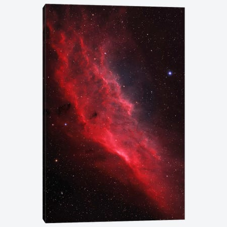 The California Nebula (NGC 1499) Canvas Print #TRK1236} by Lorand Fenyes Canvas Artwork