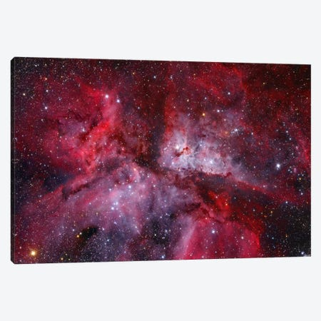 The Grand Carina Nebula ( NGC 3372) In The Southern Sky Canvas Print #TRK1237} by Lóránd Fényes Canvas Artwork