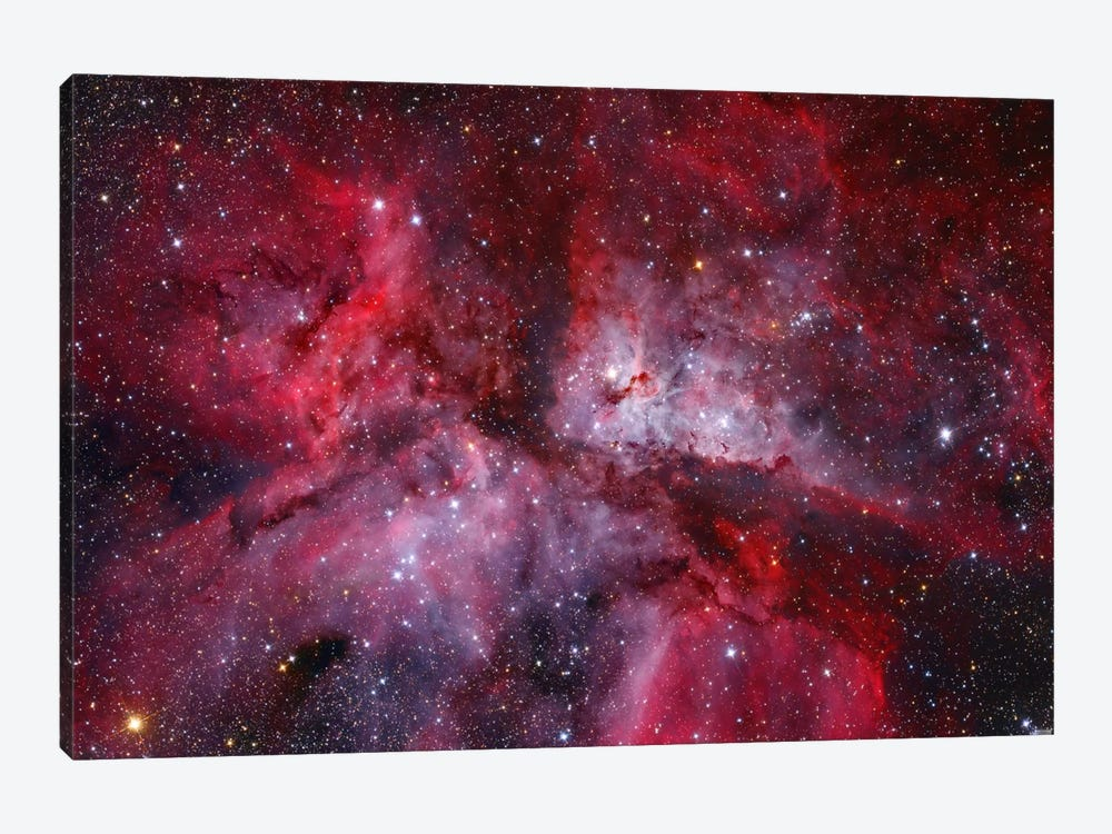 The Grand Carina Nebula ( NGC 3372) In The Southern Sky by Lorand Fenyes 1-piece Canvas Wall Art