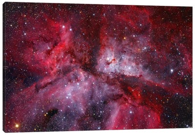 The Grand Carina Nebula ( NGC 3372) In The Southern Sky Canvas Art Print