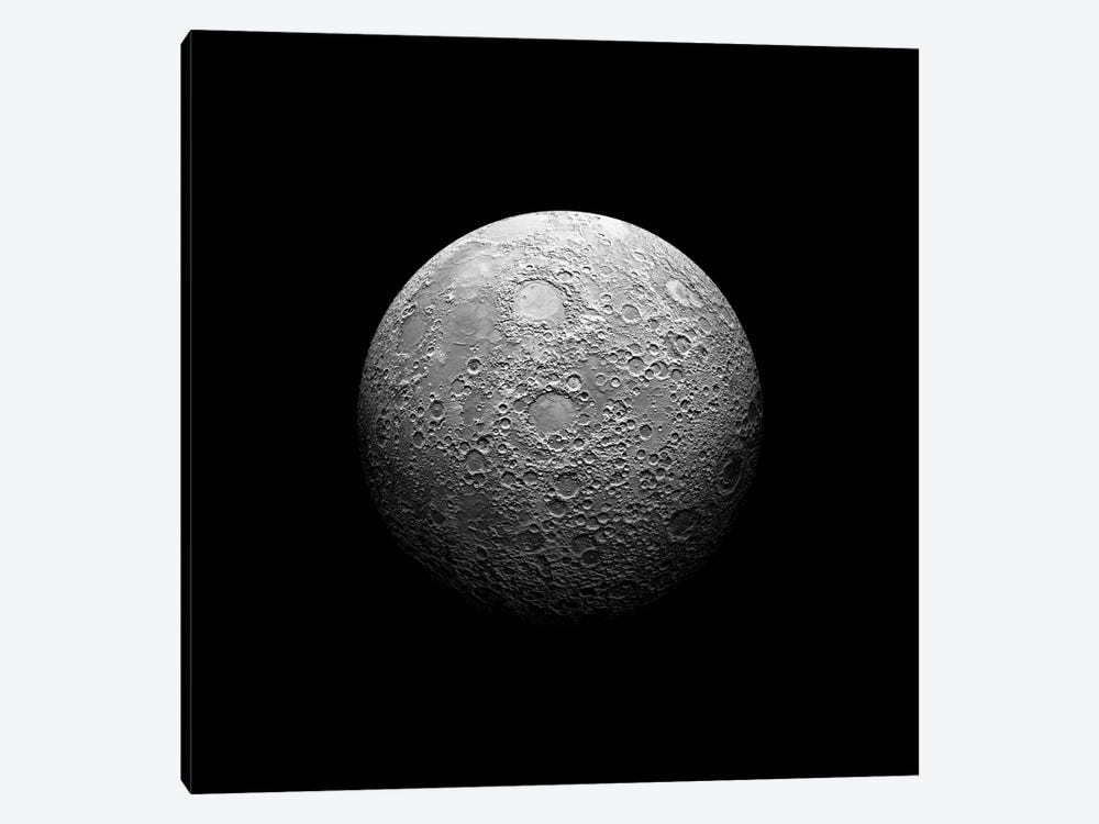 A Heavily Cratered Moon by Marc Ward 1-piece Art Print