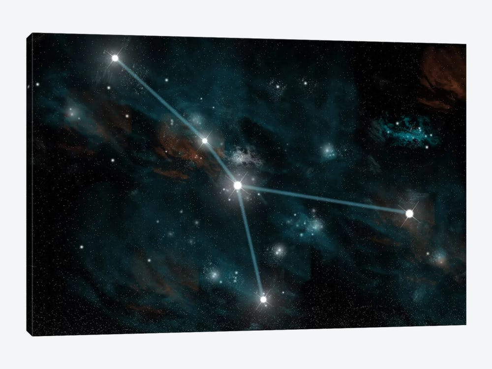 The Constellation Cancer by Marc Ward 1-piece Canvas Print