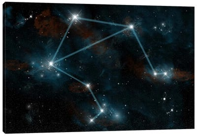 The Constellation Libra The Scales Canvas Art Print