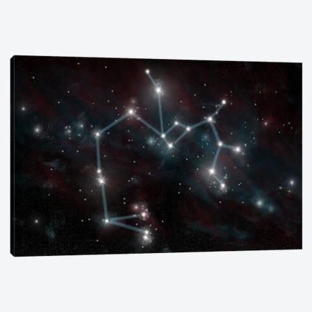 The Constellation Sagittarius The Archer Canvas Print #TRK1255} by Marc Ward Canvas Wall Art