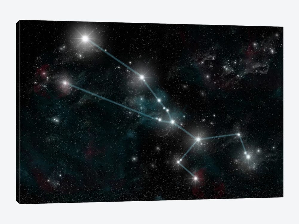 The Constellation Taurus The Bull by Marc Ward 1-piece Canvas Art