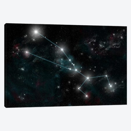 The Constellation Taurus The Bull Canvas Print #TRK1257} by Marc Ward Canvas Art