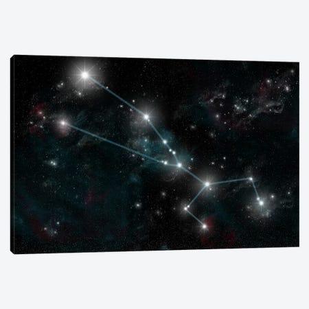 The Constellation Taurus The Bull Canvas Print #TRK1257} by Marc Ward Canvas Art