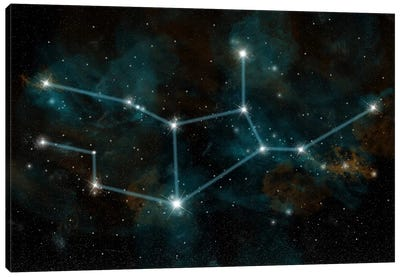The Constellation Virgo The Virgin Canvas Art Print