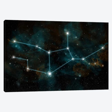The Constellation Virgo The Virgin Canvas Print #TRK1258} by Marc Ward Art Print