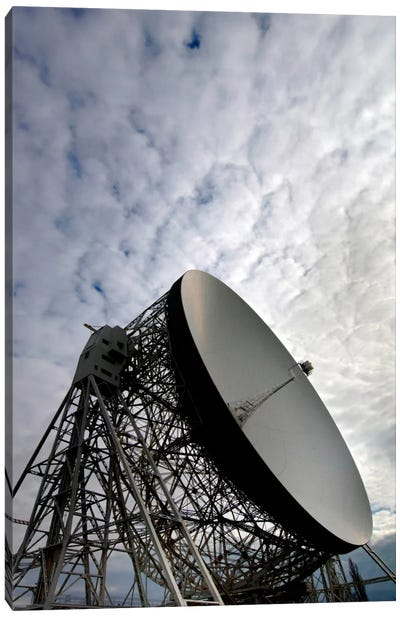 The Lovell Telescope At Jodrell Bank Observatory In Cheshire, England I Canvas Art Print