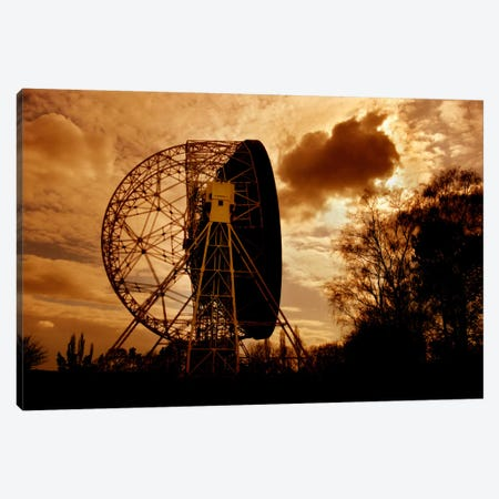 The Lovell Telescope At Jodrell Bank Observatory In Cheshire, England II Canvas Print #TRK1265} by Mark Stevenson Canvas Art Print