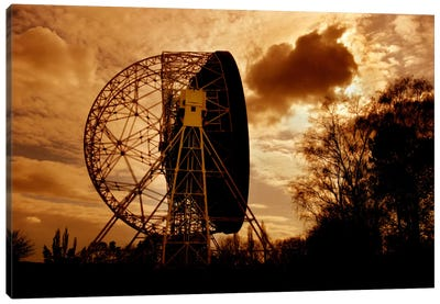 The Lovell Telescope At Jodrell Bank Observatory In Cheshire, England II Canvas Art Print