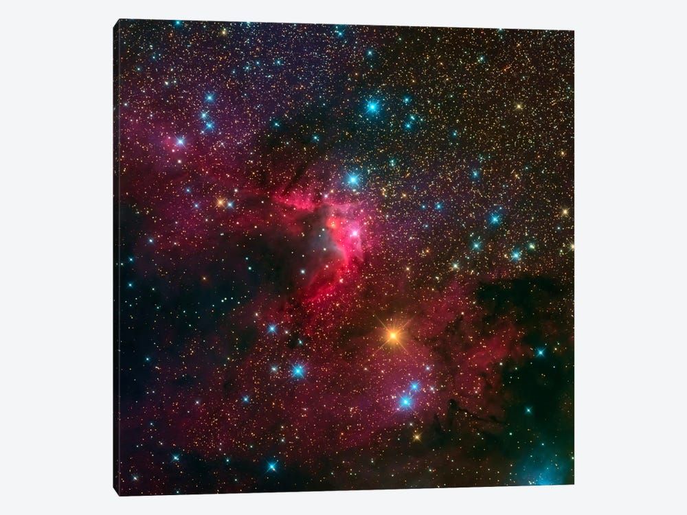 The Cave Nebula (Sh2-155) 1-piece Art Print