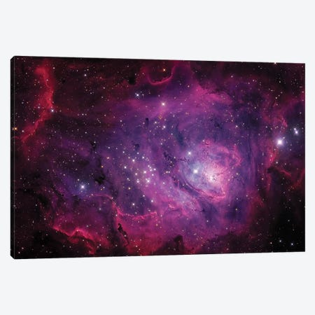 The Lagoon Nebula (M8) Canvas Print #TRK1273} by Michael Miller Art Print