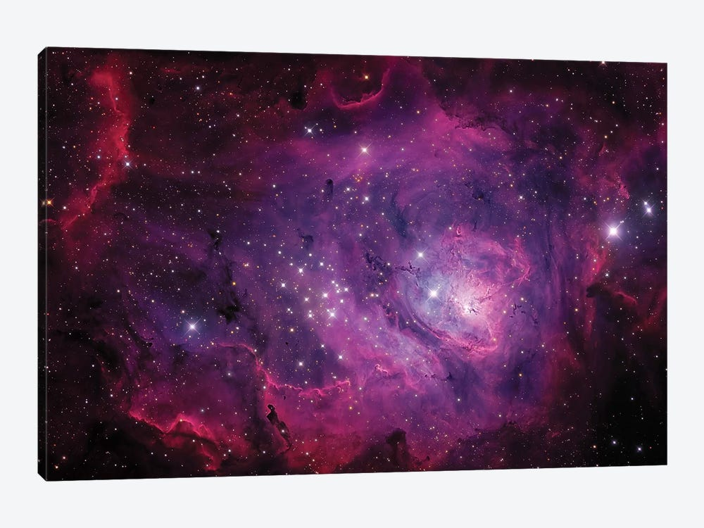 The Lagoon Nebula (M8) by Michael Miller 1-piece Canvas Wall Art