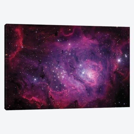 The Lagoon Nebula (M8) Canvas Print #TRK1273} by Michael Miller Art Print