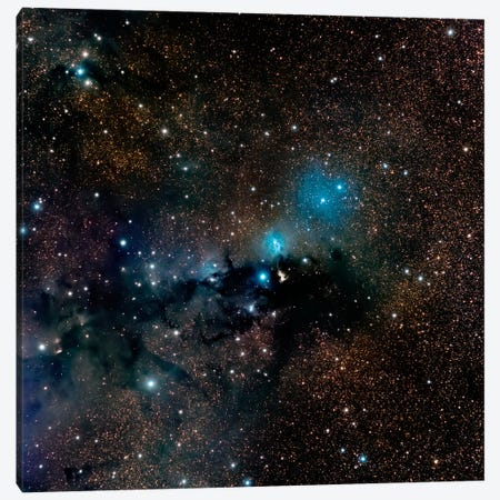 VdB 123 Reflection Nebula In The Constellation Serpens Canvas Print #TRK1277} by Michael Miller Canvas Art