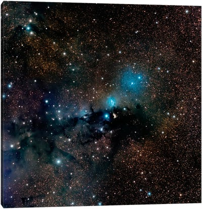 VdB 123 Reflection Nebula In The Constellation Serpens Canvas Art Print