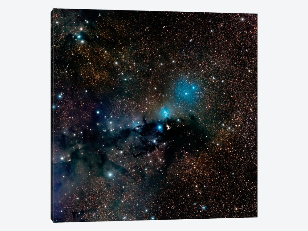 VdB 123 Reflection Nebula In The Constellation Serpens by Michael Miller 1-piece Canvas Wall Art