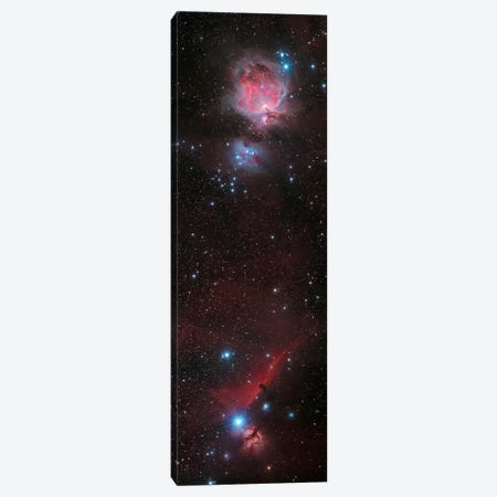 Mosaic Of Orion Nebula And Horsehead Nebula Canvas Print #TRK1282} by Philip Hart Canvas Wall Art