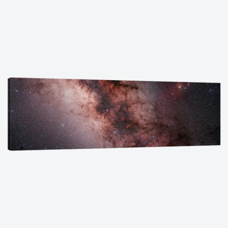 Stars, Nebulae And Dust Clouds Around The Center Of The Milky Way Canvas Print #TRK1283} by Philip Hart Canvas Artwork