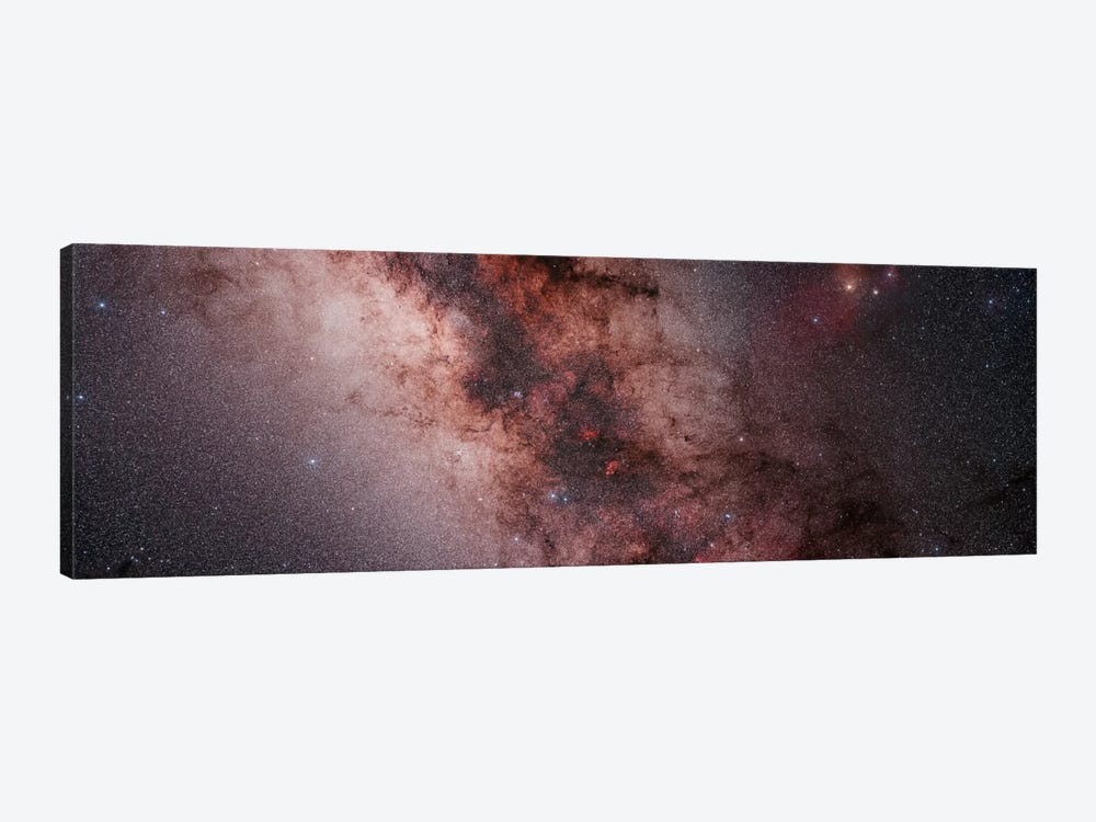 Stars, Nebulae And Dust Clouds Around The Center Of The Milky Way by Philip Hart 1-piece Canvas Print