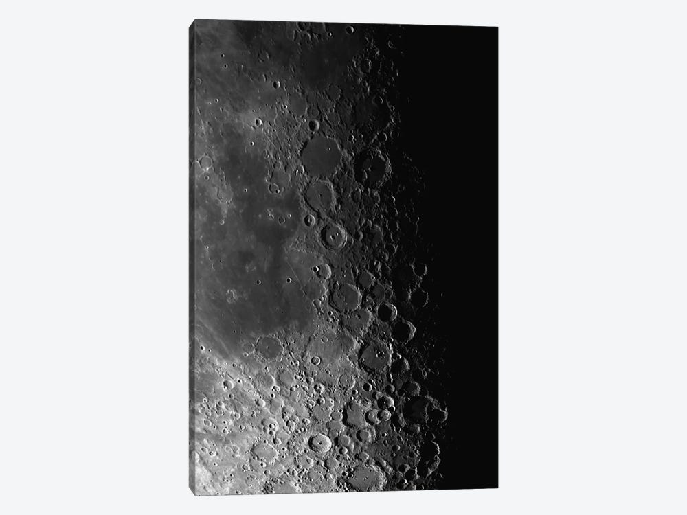 Rupes Recta Ridge And Craters Pitatus And Tycho by Phillip Jones 1-piece Canvas Wall Art