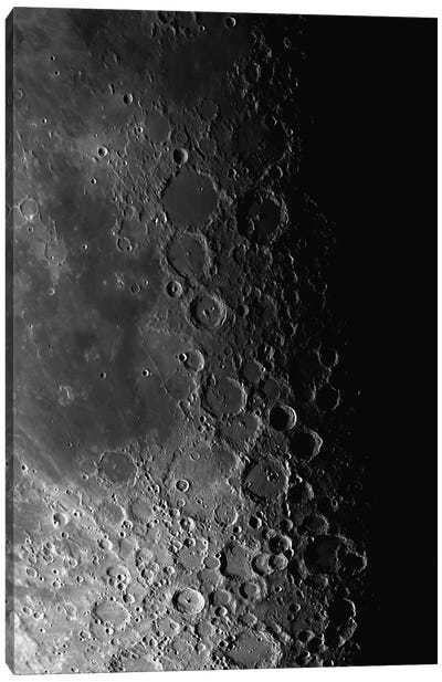 Rupes Recta Ridge And Craters Pitatus And Tycho Canvas Art Print