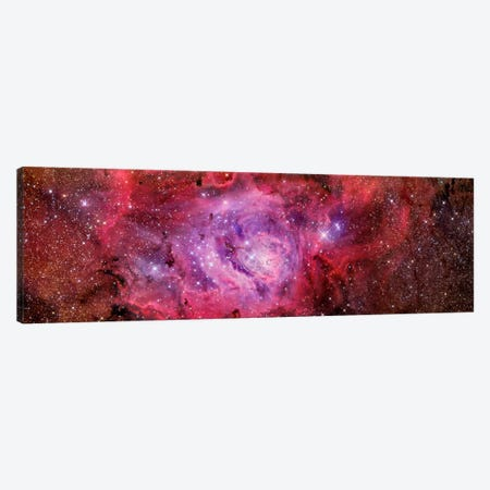 The Lagoon Nebula (NGC 6523) Canvas Print #TRK1286} by R. Jay GaBany Canvas Art Print